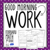 2nd Grade Morning Work (Math - February)