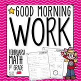 Morning Work - February (Math)