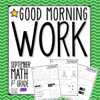 Morning Work - September (Math)