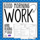 2nd Grade Morning Work (Reading - April)