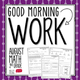 Back To School Morning Work (2nd Grade)