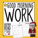 Morning Work - December (Reading)