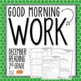 2nd Grade Morning Work (Reading - December)