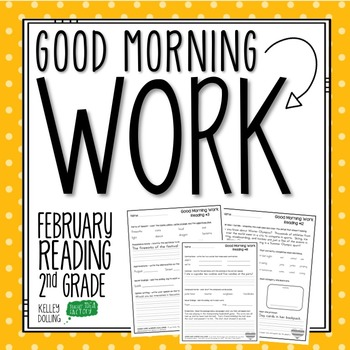 2nd Grade Morning Work (Reading - February)