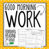 2nd Grade Morning Work (Reading - February)