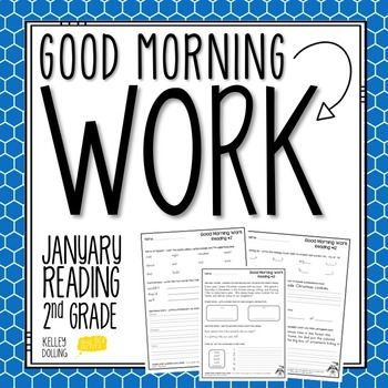 2nd Grade Morning Work (Reading - January)