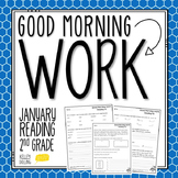 2nd Grade Morning Work (Reading - January)