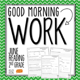 2nd Grade Morning Work (Reading - June)
