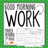 2nd Grade Morning Work (Reading - March)