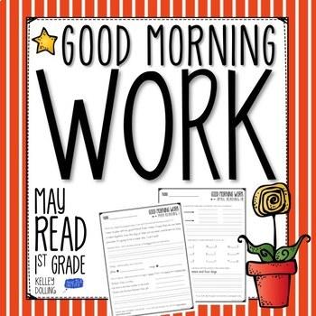 Morning Work (May) - Reading