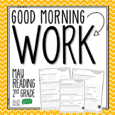 2nd Grade Morning Work (Reading - May)