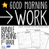 Morning Work - 1st Grade Bundle (Reading)