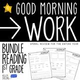 Morning Work - 1st Grade Bundle (Reading)