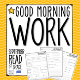 Morning Work - September (Reading)