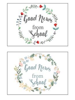 Good News From School Positive Postcards
