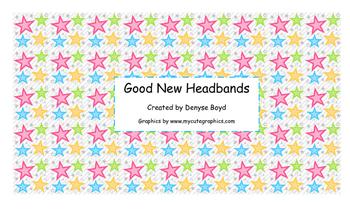 Good News Headbands