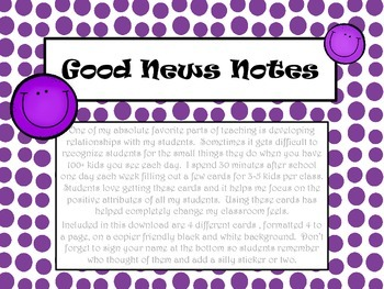 Good News Notes