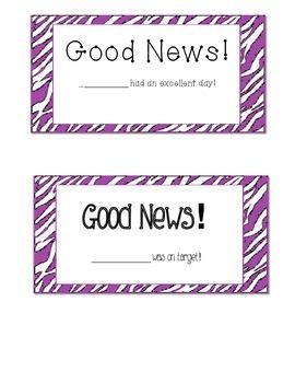 Good News Post Cards