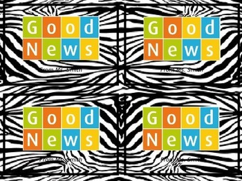 Good News Postcards