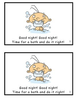 Good Night! Good Night! Guided Reader (-ight Word Family)