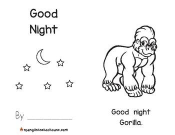 Good Night, Gorilla Activity Pack