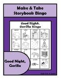 Good Night Gorilla BINGO Make & Take, SPEECH THERAPY, Language