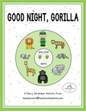 Good Night, Gorilla - Balloon Math Cards