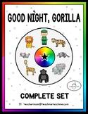 Good Night, Gorilla Set - Includes STICK PUPPETS!