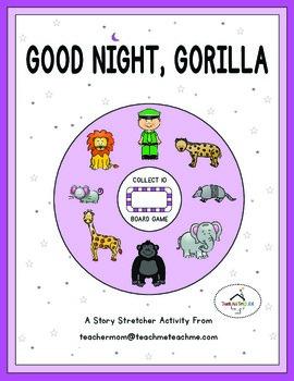 Good Night, Gorilla - Collect 10 Board Game