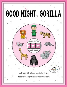 Good Night, Gorilla - Collect 10 Mat Game