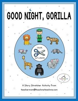 Good Night, Gorilla - Color, Cut & Paste