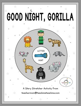 Good Night, Gorilla - Letter Hunt
