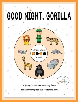 Good Night, Gorilla - Pattern Strips & Chips