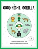Good Night, Gorilla - Play Dough Letter Mats