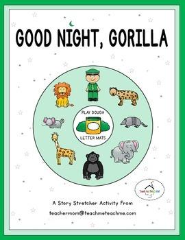Good Night, Gorilla - Play Dough Letter Mats