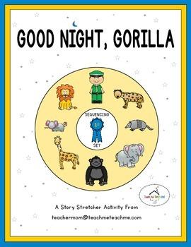 Good Night, Gorilla - Story Sequencing
