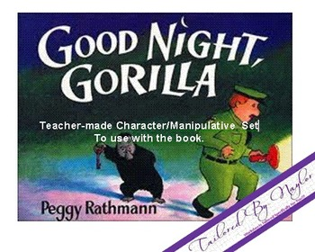 Good Night Gorilla Teacher Manipulative Set