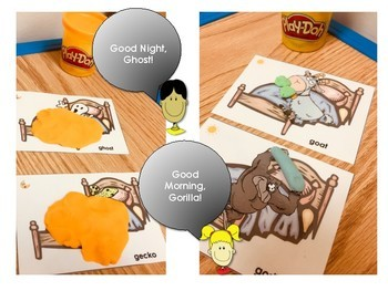 Good Night and Good Morning /g/ Articulation Game for Speech Therapy