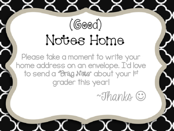 Good Notes Home