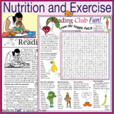 Nutrition and Exercise – Healthy Eating, Cooking, Exercisi