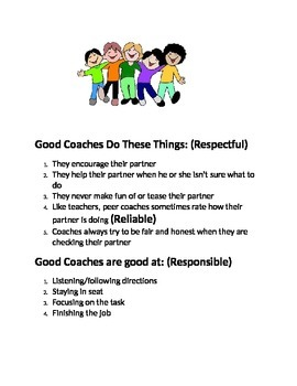 Good Peer Coaches Do These Things