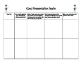 Good Presentation Traits