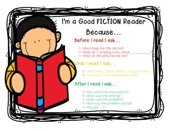 Good Reader Posters and Bookmarks