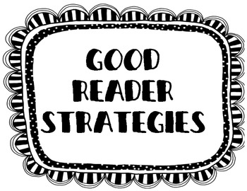 Good Reader Strategies Bundle