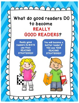 Reading Strategies Mini Posters
