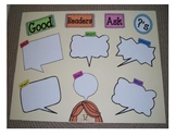 Good Readers Ask Questions Anchor Chart