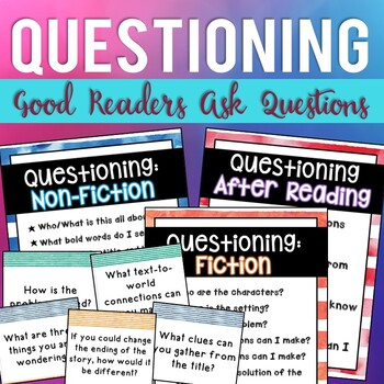 Good Readers Ask Questions