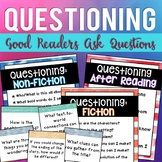 Good Readers Ask Questions {Anchor Charts & Graphic Organizers}