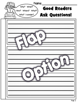 Good Readers Ask Questions - Organizer and Visuals FICTION & NON-FICTION