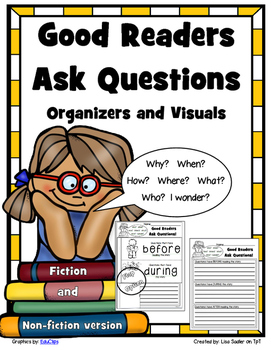 Good Readers Ask Questions - Organizer and Visuals FICTION